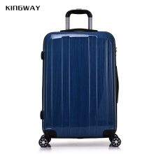 Hot selling abs/pc travel luggage bag it luggage cabin size printed hard shell