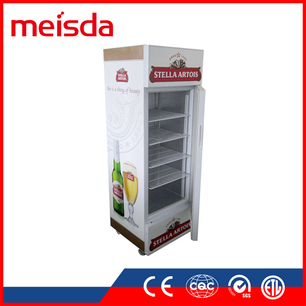 Eco-friendly SC190 B Commercial supermarket showcase refrigerator beverage display cooler