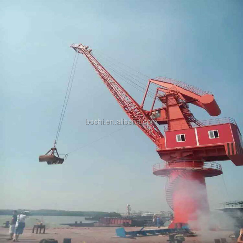 Marine Electric Hydraulic Port Ship Crane