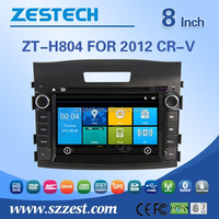 car cd player for Honda 2012 CR-V touch screen car dvd gps with Phone connect RDS BT TV