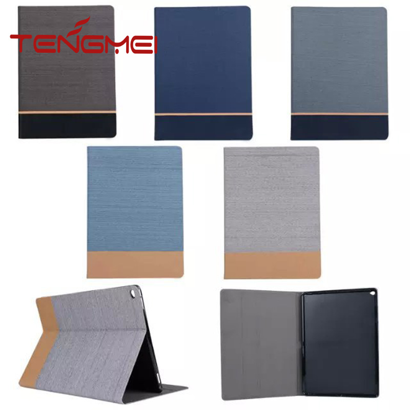 high quality canvas+soft tpu for ipad pro case