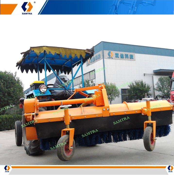 Hydraulic Snow Broom Sweeper for SF Tractor