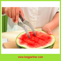 wholesale magic kitchen gadgets watermelon slicer with color box