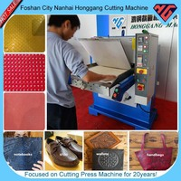 hydraulic number plate embossing press machine