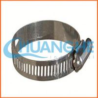 Made in china p type steel pipe/clip with fixing rubber clamp