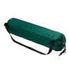 Green Nylon simple yoga mat duffel bag with shoulder