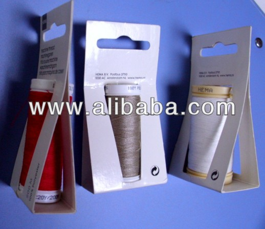 SEWING THREAD IN SMALL PACKAGE WITH EUROPE LOCK
