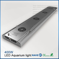 5ft Programmable 400w LED dimmable Aquarium Light with intelligent controllers full spectrum