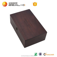 china factory suppliers selling decorative gift wooden Essential oil bottle storage box in packaging boxes