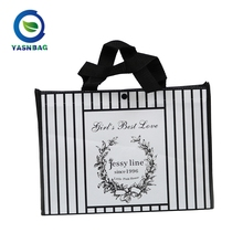 Custom design pp laminated non woven promotion tote bags