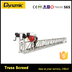 high efficiency Kohler engine concrete truss screed