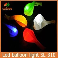 Hot sale Mixed Colored 12'' hight quality super bright led balloon light