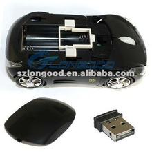 Wireless Optical Car Mouse 1600dpi 3D USB 2.4G Laptop