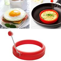 Kitchen Silicone Egg Mold Non-stick Pancake Maker Creative Flower Heart Shape