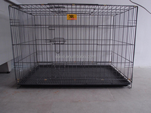 High Quality Foldable Heavy Duty Stainless Steel Dog Cage D901