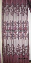 2013 latest designs printing voile Curtain wholesale