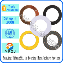 self lubriacting low friction plastic gasket and metal gasket