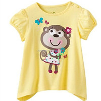 Professional Japan Style Round Neck Children Plus Size T-Shirts logo design printed t-shirt softextile