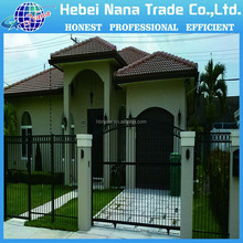 Extend-Retract Aluminum Cheap Security Garden Fence Doors