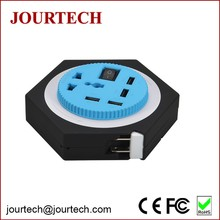 4 USB Most Powerful Fast Total Station Battery Charger with 1 Worldwide Rotatable Socket