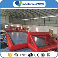Inflatable football stadium hot inflatable soccer arena bubble soccer field