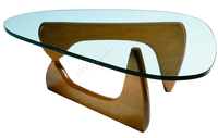 3-19mm Oval-shaped Glass Dining Table