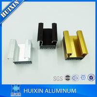 China aluminium profile for invisible frame curtain wall