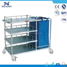 Medical transport dressing clinic trolley cart