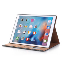 Custom Luxury leather smart cover stand flip case for ipad pro 12.9 generation 1 and 2