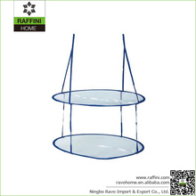 Laundry Sweater Hanging Basket, Folding Double Drying Mesh Clothes Dryer Net