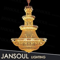 2015 russian large antique brass islamic lamp fancy embroidery designs gold empire crystal chains chandelier