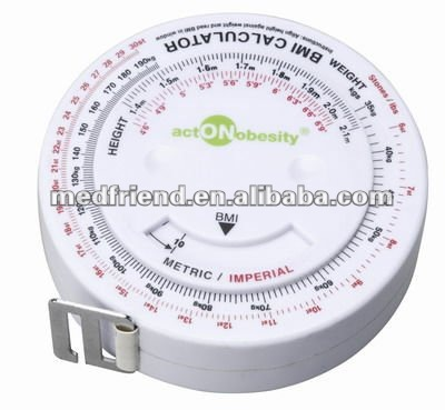BMI tape measure(round shape)