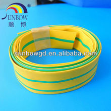 UL qualified cable color marking protected Green/ yellow heat shrink tube