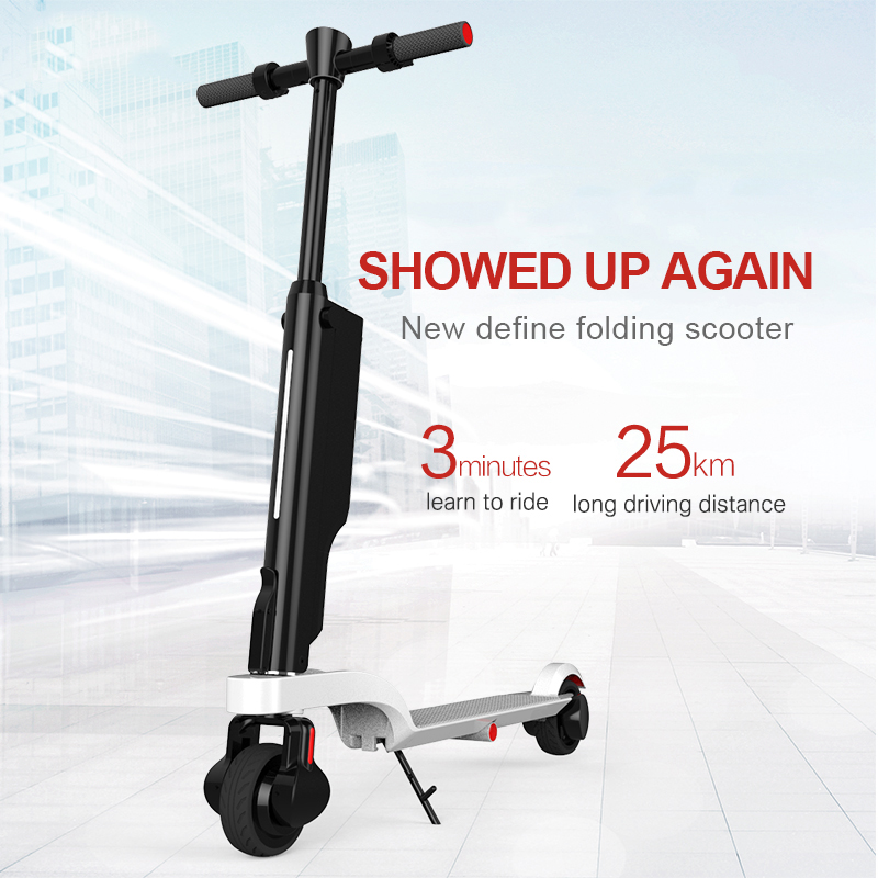 Adult Electric Kick Scooter,Foldable motorized scooter with LED Light lithium Battery with 1-Year Warranty
