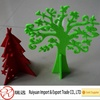Felt christmas decoration,lovely high quality felt christmas tree