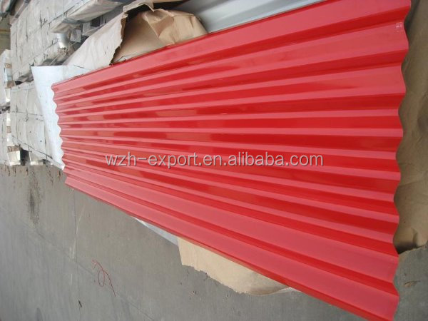 galvanized steel sheet 2mm thick make 4x8 galvanized corrugated steel sheet for prefabricated house