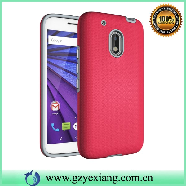 popular shockproof hybrid armor case for motorola moto g4 play cover