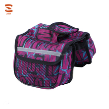 High Quality Travel Double Saddle Bike Bag Front Tube Bag Mountain Bike Bicycle Bags