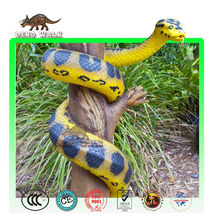 Dino0855 Zoo decoration high quality robotic snake for sale