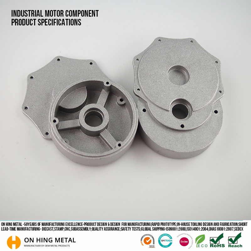 china supplier Cast Aluminum Product Pump Body Aluminum Low Pressure Die Casting Manufacturing Proces