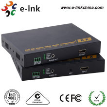 1Ch 1080p HDMI to Fiber Converter with external stereo audio