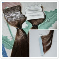 2013 new cheap indian hair skin weft tape remy hair extension