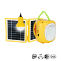 Top Selling Solar Rechargeable Lantern LED Camping Light with One Bulb