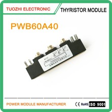 Noninsulated thyristor module for welding machine application 80A 400V PWB80A40