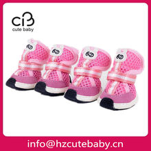 breathable lovely dog shoes
