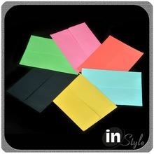 Fancy wholesale mini birthday handmade custom paper gift envelope for gift card