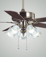 52'' MFL5216 DELUX DECORATIVE ceiling fan with light