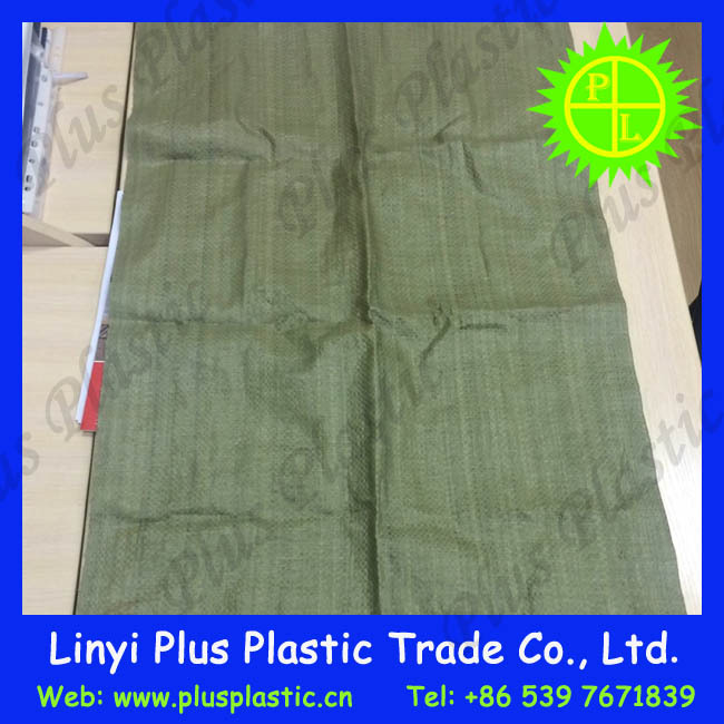 green or grey cement bag/plastic packaging cement bags