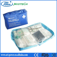 New Product DIN13164 Germany CE FDA approved wholesale oem promotional auto emergency survival first aid kit