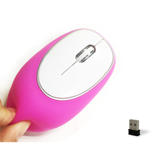 optical wireless soft silicon mouse for computer